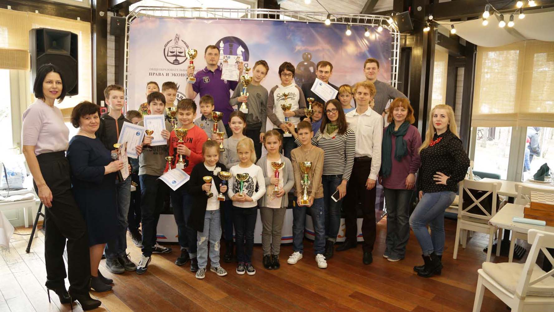 Детский шахматный турнир на Кубок «Новая Рига»