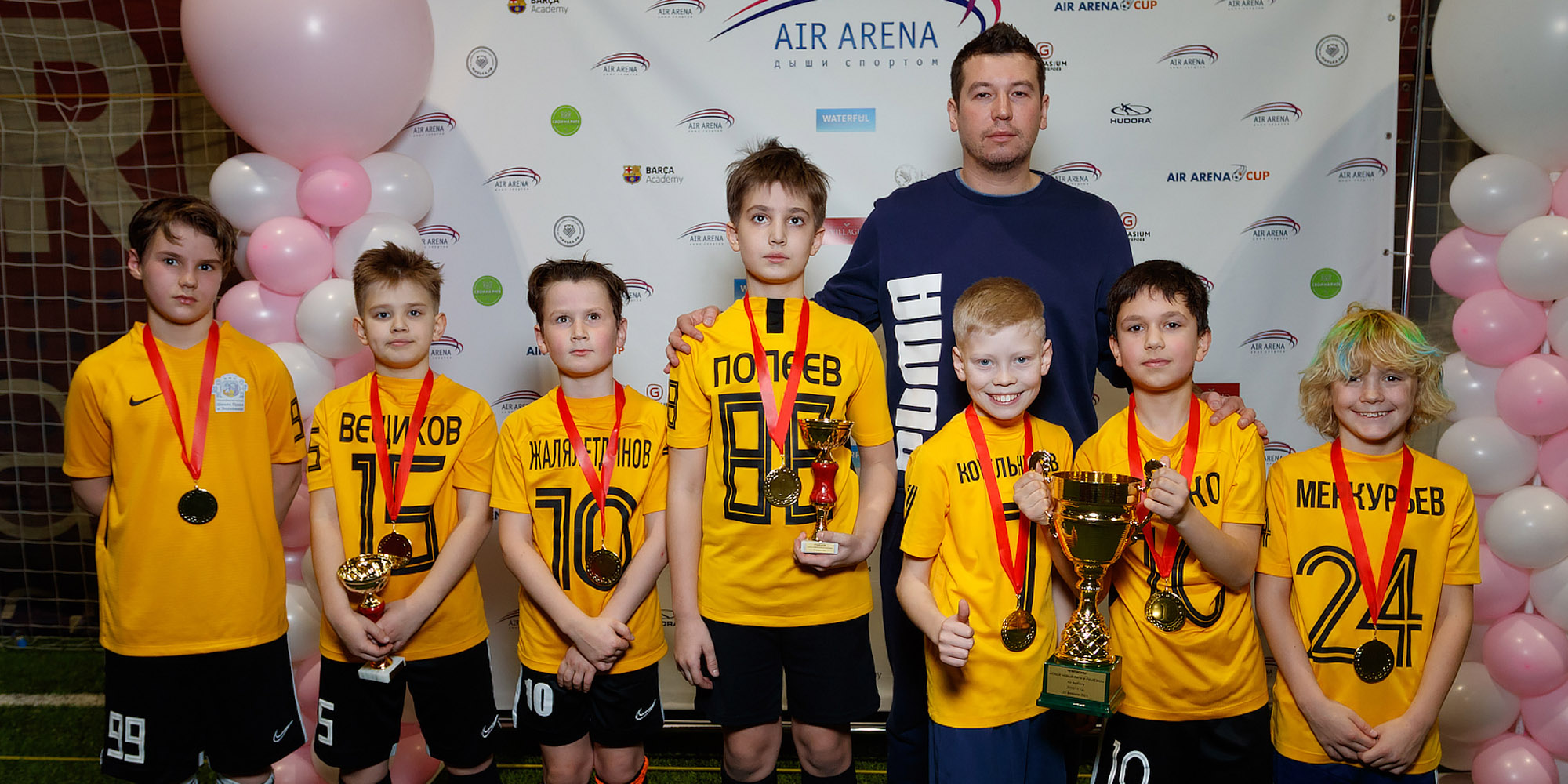 Победители Чемпионата Новой Риги и Рублёвки среди частных школ
