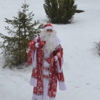 Дед Мороз в школе