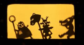 Рождественский теневой спектакль